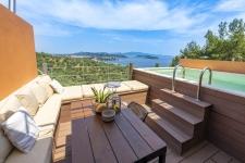 2Br,2Bth villa kallisto  with private pool